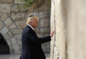 Trump hace historia al convertirse en el primer presidente de Estados Unidos en visitar el Kotel